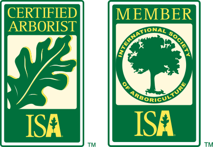 ISA Certified Arborist & ISA Member logos